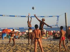 IMG_2603 (allenday) Tags: sunset brazil beach bikini volleyball beefcake ipanema