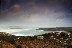 Sunday Storm (harrietbarber) Tags: sea england sky storm clouds cornwall stmartins northend scilly tresco islesofscilly scillies gimbleporth