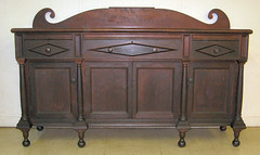 This 1800's cherry sideboard sold for $11,500