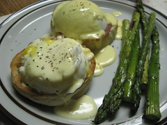 Eggs Benedict for Christmas Dinner