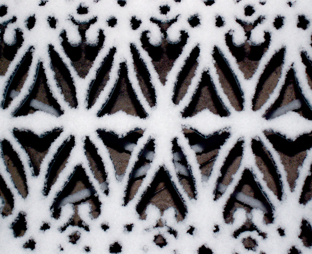 Patterned Snow