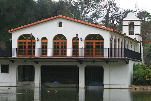 Stewards Boathouse, Fairmont Park, Riverside, CA