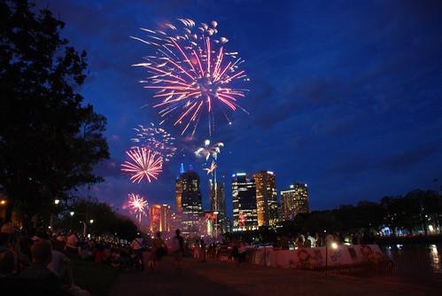 Fireworks NYE Melbourne