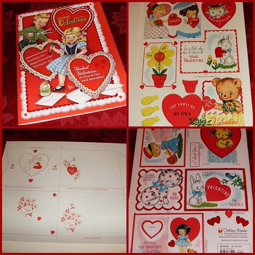 Reproduction Vintage Valentine Book