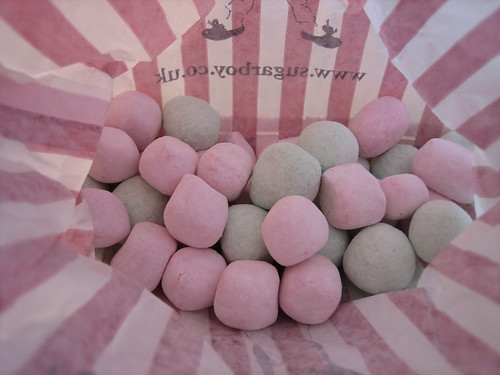 Strawberry and Apple Bon Bons from the Sugar Boy, Whitstable