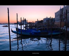 Sunset in Venice (M_U_R_A_M_A_S_A) Tags: venice sunset italy tramonto 200views reflexions venezia 600views goldenglobe blueribbonwinner d40 5photosaday diamondclassphotographer naturewatcher platinumheartaward flickrphotographeraward theperfectphotographer