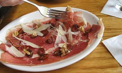 prosciutto, figs and parmesan at Tellers