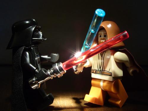 Star Wars Lightsaber Battle