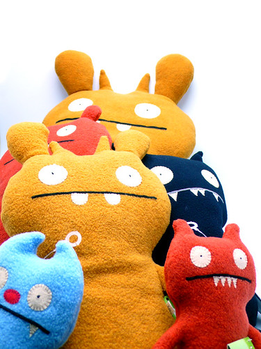 Ugly Dolls Deer Ugly + Ice-Bat + Abima + Gato Deluxe by artoyzflickr.