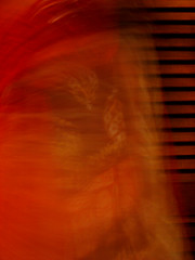 50c_top_abstract1 (JunkByJo) Tags: red orange brown abstract yellow tan fabric spinning slowshutterspeed warmtones