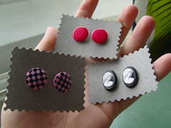 Button Earrings 4