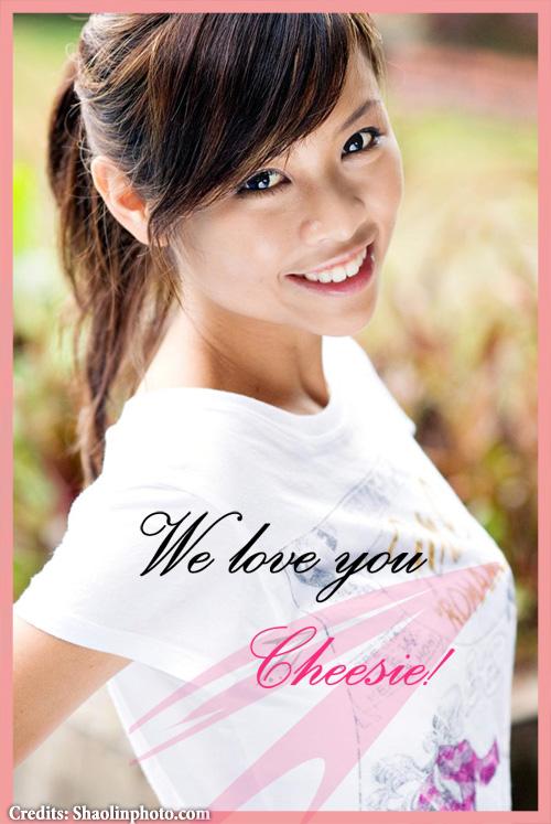 We love you Cheesie!