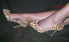 El Dants 2 (Kwnstantina) Tags: sexy shoes toes fishnet leopard heels anklet redtoes peeptoes eldants ponyskinpumps highheelsheelspumpsfetish leopardponyskin