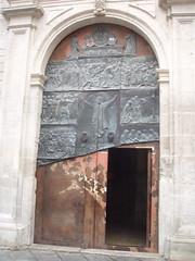 Church Door (*P*&*J*) Tags: door espaa spain cuenca