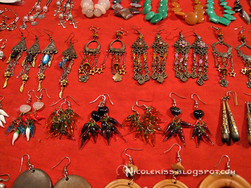 earrings night market