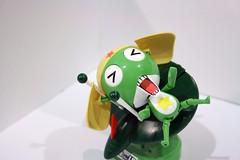 Keroro Gunso & his Flying Board (TheFalcon) Tags: cute canon toys eos flying model board frog figurine capt bandai keroro plamo gunso jfigure 400d