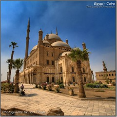 Muhammad Ali Moschee (HDR) (Lars Tinner) Tags: africa egypt cairo egipto gypten hdr egipte muhammadali zitadelle kairo elcairo moschee gyptenegypt alabastermoschee elcaire wwwtinnersg httpwwwtinnersg tinnersg