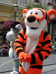 tigger pees on the crowd in the magic kingdom parade