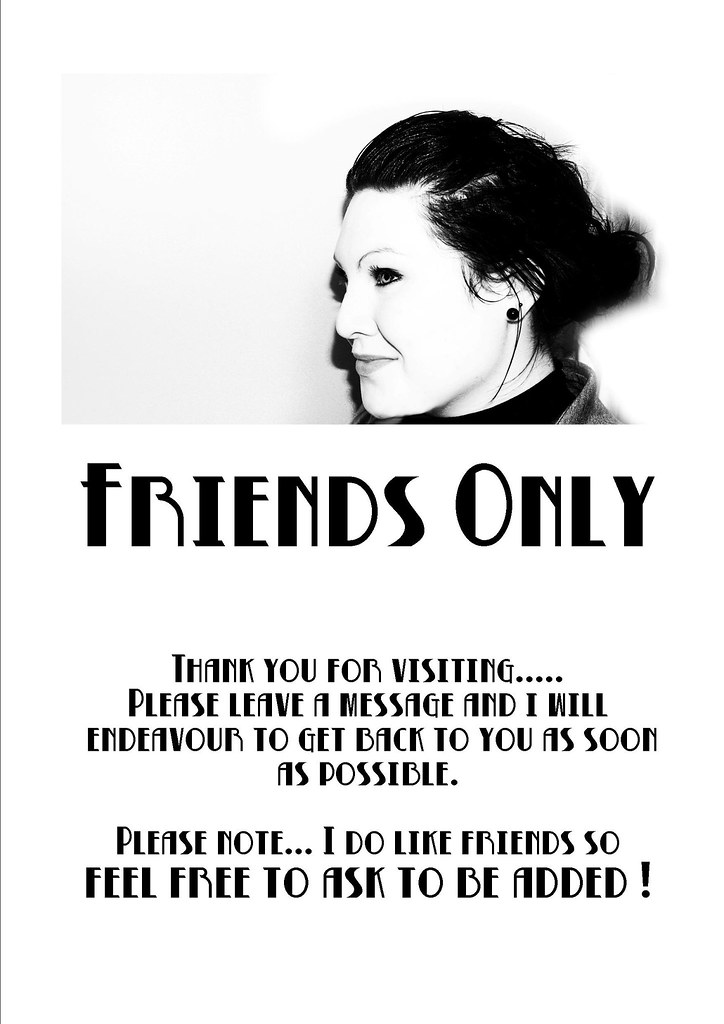 friends only2