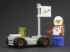 Willys Jeep Pedal Car Rover (billyburg) Tags: lego classic space rover febrovery willys jeep lunar moon