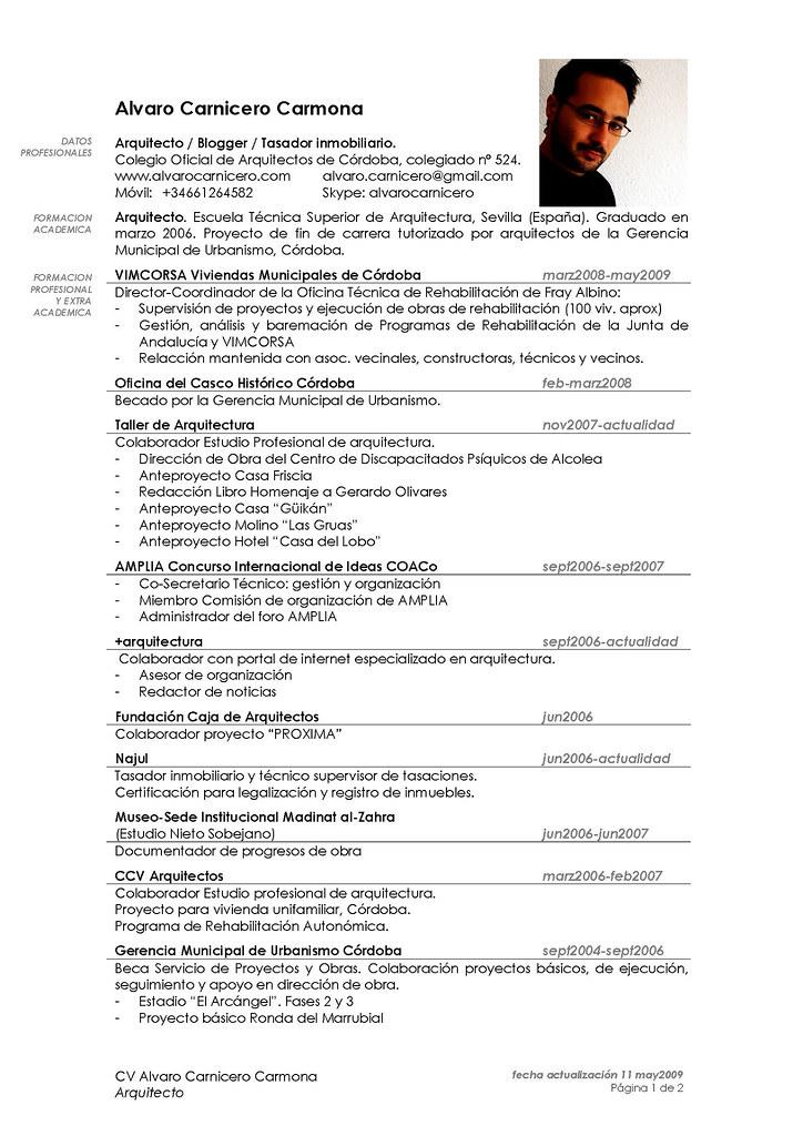 alvaro carnicero_cv_pgina_12 alvaro carnicero tags architecture trabajo arquitectura blogger architect job