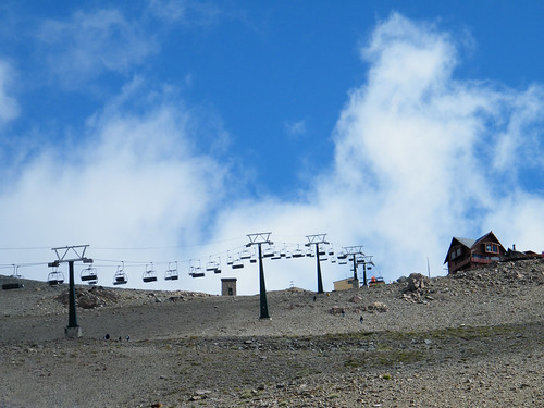 Chairlift on Cerro Catedral by katiealley on Flickr