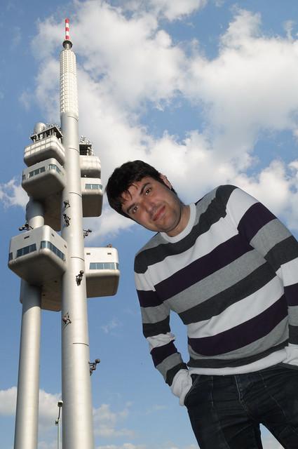 La torre de Zizkov - Torre de Televisión