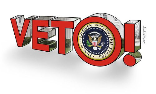Veto! - 3d Illustration