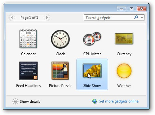 glass icon in win7