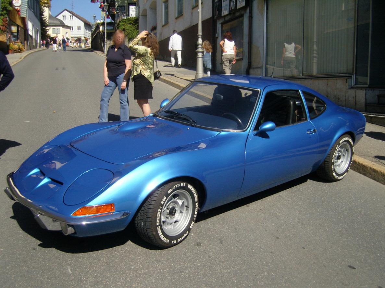 Opel GT ... go back