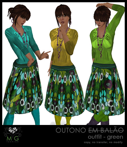 [MG fashion] Outono outfit - green