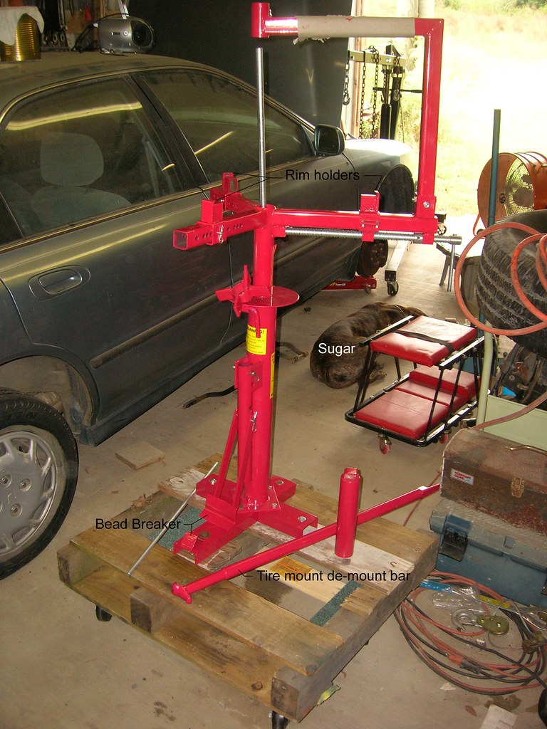 Tire Changer A Tool You Need For Your Shop Nuts Bolts Wrenching