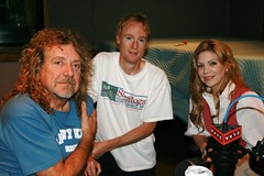 Robert Plant, John Schaefer, Alison Krauss (wnyc) Tags: rock radio bluegrass folk interview ledzeppelin robertplant alisonkrauss wnyc
