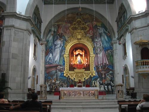 Candelaria, interior de la Basílica