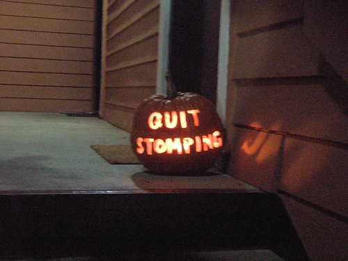 QUIT STOMPING