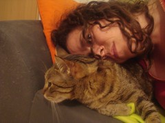 Gin and Me (YaelBeeri) Tags: me cat gin