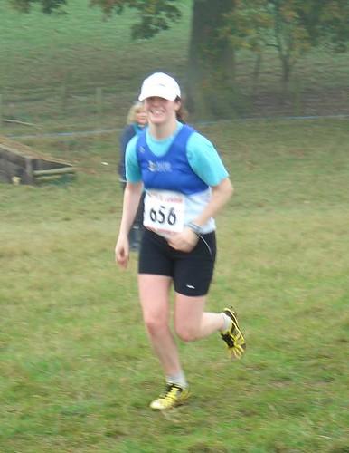 Liz on lap 1