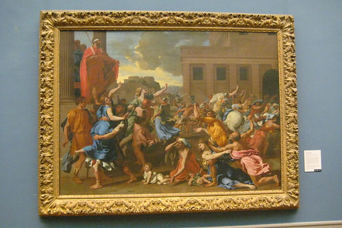 NYC - Metropolitan Museum of Art - Abduction of the Sabine Women by wallyg