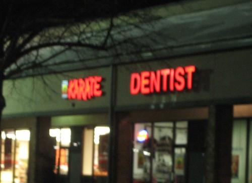 karate dentist