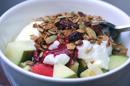 Yogurt & Homemade Granola
