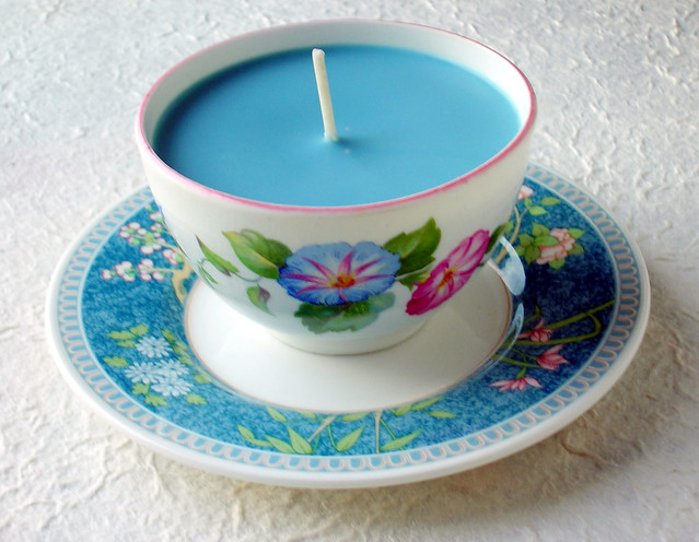 Butterfly Wings Soy Teacup Candle