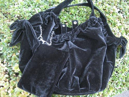 velour bag 1