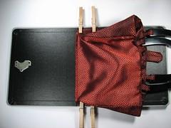vintage software book handbag