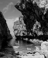 Matapa Chasm, Niue Island (npboy) Tags: bw delete10 delete9 delete5 delete2 delete6 delete7 save3 delete8 delete3 delete delete4 save save2 save4 save5 save6 rugged chasm niue