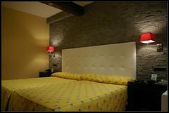 Hotel Room in Barcelona (brunombo) Tags: barcelona hotel bed spain room letto spagna stanza albergo smcpda1855mmf3556al justpentax