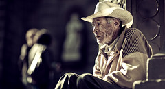 beggar (Luis Montemayor) Tags: old light man luz hat mexico catedral oldman beggar sombrero anciano puebla viejo hombre