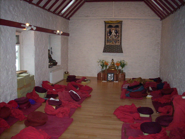 Dhanakosa shrine room