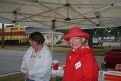 Marcia Posing (Timothy Totten) Tags: ferranpark eustis125thcelebration carandboatshow marciaarnold