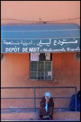 Waiting (Liv ) Tags: africa street travel blue light sunset red 2 people 3 man sahara