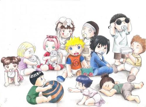 Naruto Babies by Deidara's Chick.
